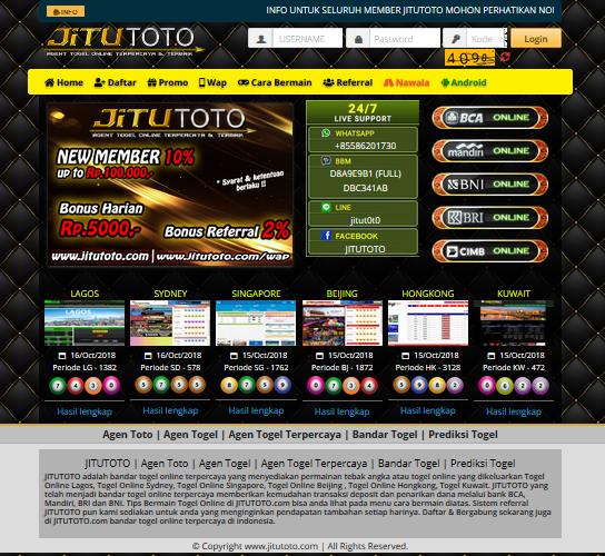 JituToto Alternatif Link Terpercaya 2018 - 2019 - Agen ...