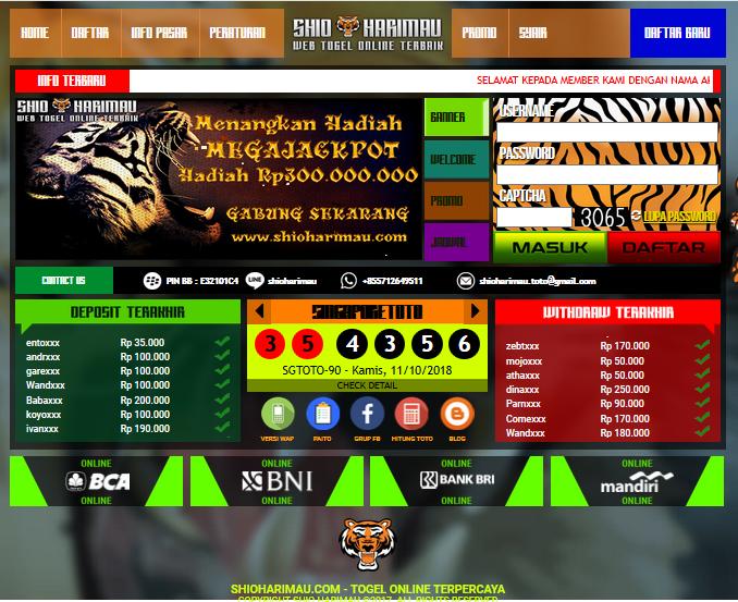 situs togel terbaru