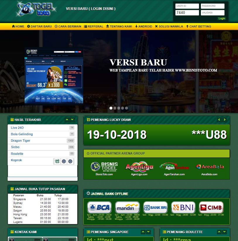 situs togel terbaru 2018